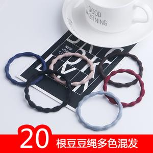 日韩版发绳头圈发圈个性豆豆款头绳头饰成人简约扎头发饰品皮套