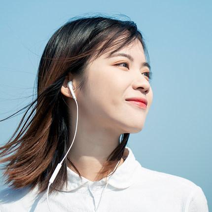 苹果耳机iPhone11/xs/x/xr入耳式6手机7/8/MAX有线控lightning扁头iPhoneX耳塞plus通用6s高音质佐伴原装正品