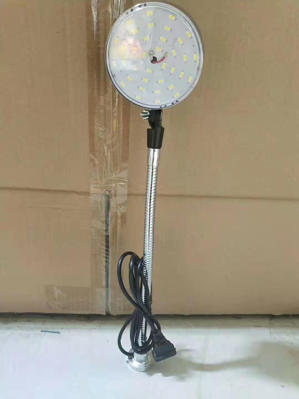 led机床工作灯强磁力吸铁台灯缝纫机灯15W220V24V36V48V可弯曲