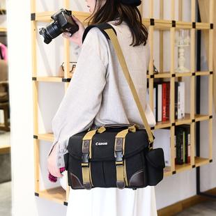 帆布摄影包d7200d750d7100d810d3200dd3400 单反 佳能 尼康相机包