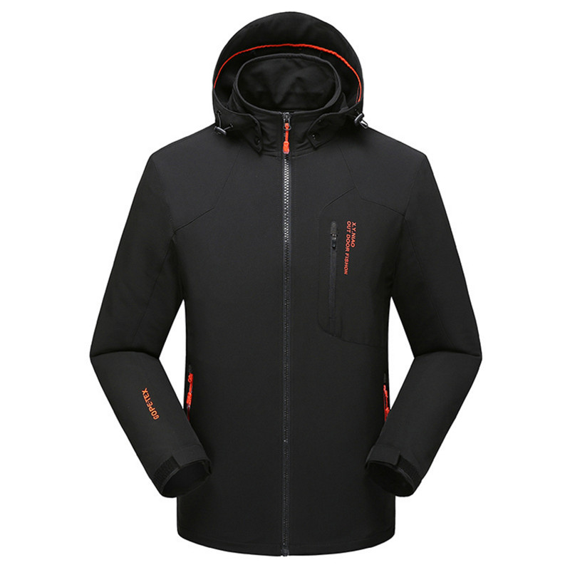 Spring and autumn day large jacket mens coat extra large mountaineering suit windproof waterproof outdoor sports jacket 8x