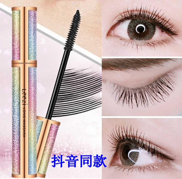 Tiktok Liz 4D long eyelash paste, durable, thick, curly, waterproof, and no rust.