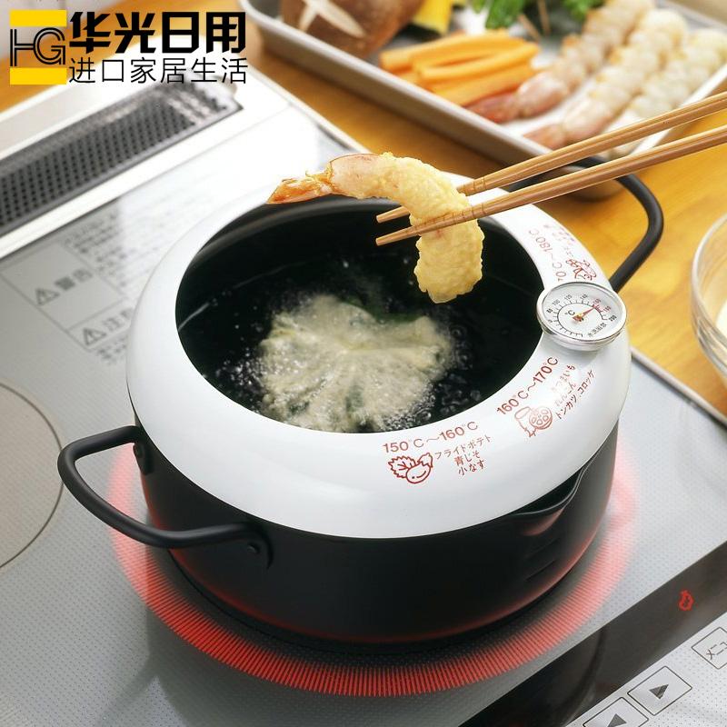 Иморт из японии домой масло жарить горшок масло всплеск день женщина ло обжаренный жарить горшок с температурой считать газ электромагнитная печь квартира горшок