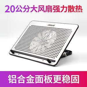 笔记本散热器15.6寸17寸静音风冷风扇笔记本散热底座垫支架散热器