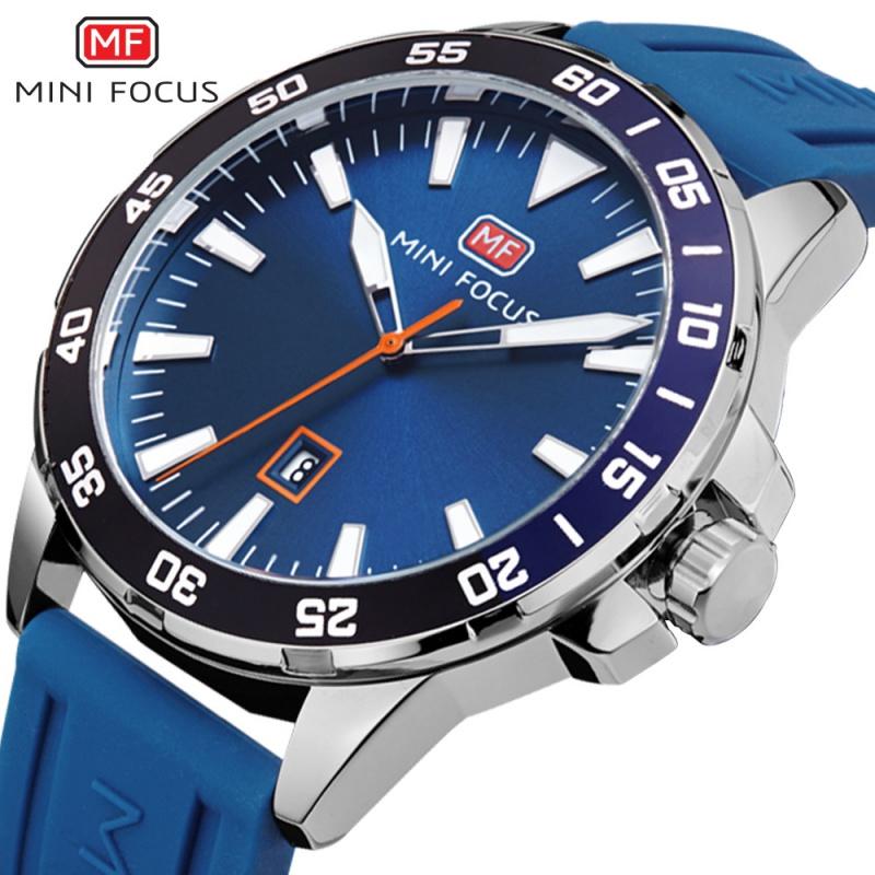 Mini focus sports watch fashion student watch and watch popular luminous waterproof silicone tape mens Watch