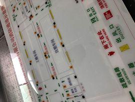 深圳消防平面图定制消防疏散图 消防示意图 消防逃生图紧急逃生图