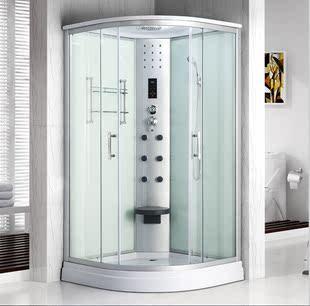 整体淋浴房整体浴室浴房钢化玻璃蒸汽桑拿洗澡房全封闭一体卫生间价格