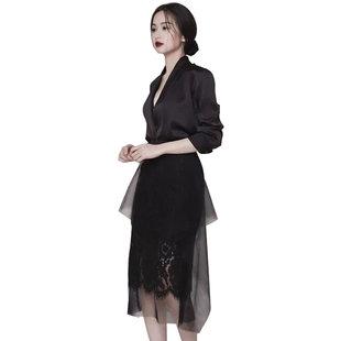 職場女裝OL氣質女神範衣服女2020秋冬新款套裝裙高端名媛連衣裙
