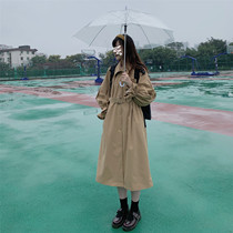 秋季风衣女装名媛气质修身英伦中长款女士春秋经典韩版外套女2018