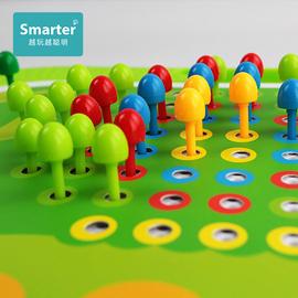 蘑菇钉益智玩具儿童拼图大颗粒拼插板宝宝小钉板百变插珠智力积木