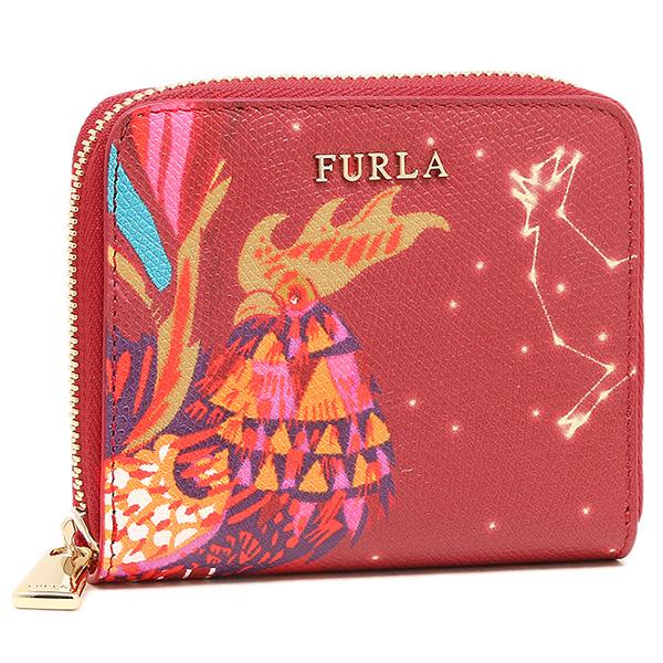 日本代购furla芙拉短款钱包鸡年本命年红色高档纪念日生日礼物