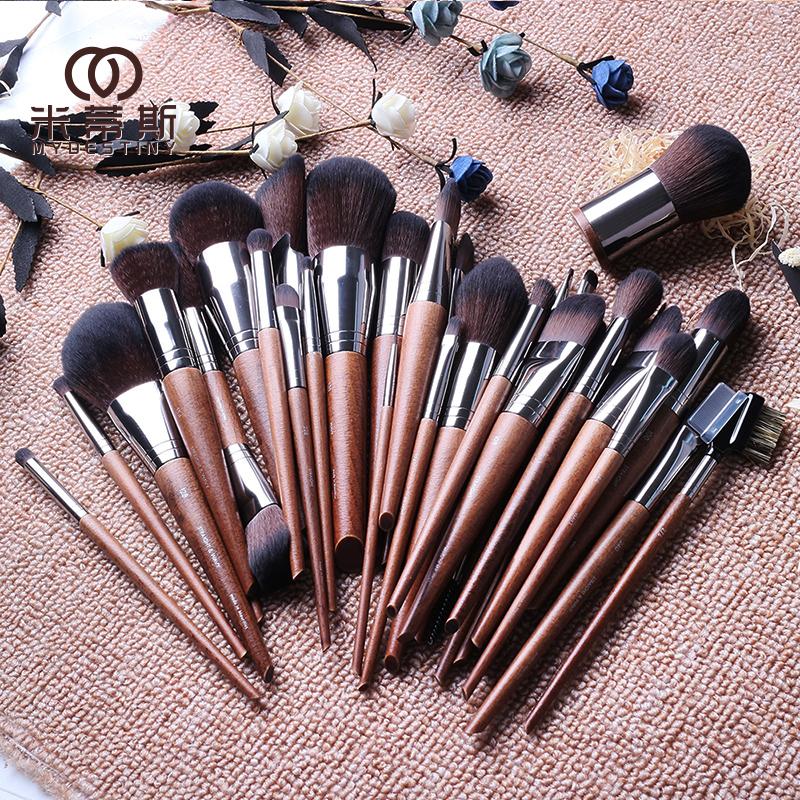 F series makeup brush, beginner powder powder brush foundation brush, eye shadow brush, nose shadow brush, high gloss brush, blush brush.