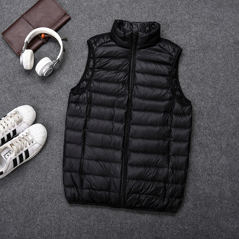 Fall / winter 2019 new lightweight down vest mens ultra light down vest