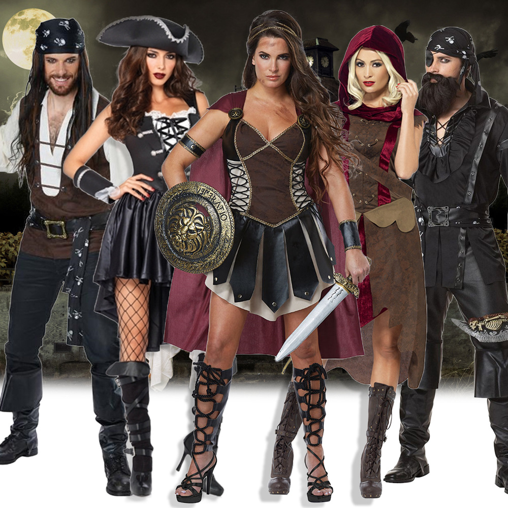 Costume for adults Robin Hood Robin Hood warrior costume for pirates of the Caribbean