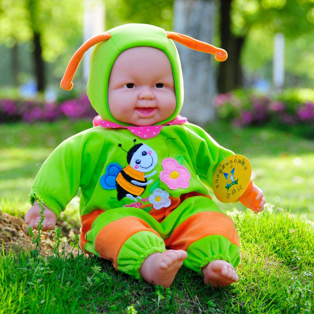 仿真娃娃玩具嬰兒會說話的洋娃娃寶寶兒童玩具布娃娃家政月嫂早教
