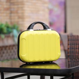 皮旅行子母箱小箱子包邮14寸迷你手提便携式化妆包小行李箱女16寸图片