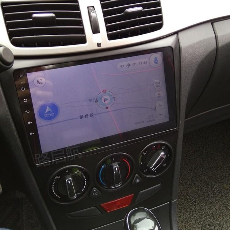 东风风神S30H30手机互联热点连接9寸安卓车载大屏导航仪一体机
