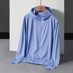 D236A-2099-P32 新款UPF50+亲肤夹克男女微弹情侣装防晒衣皮肤衣