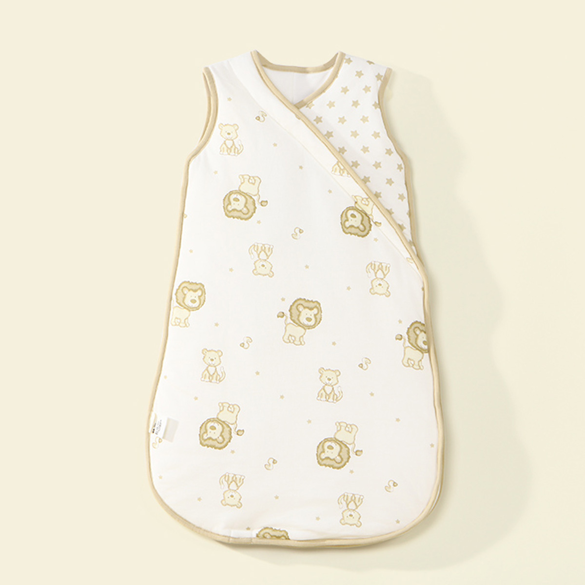 Вода звезда домой спин спальный мешок Baby печать стеганый жилет спальный мешок ребенок осень и зима противо удар находятся