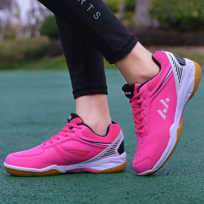 Badminton shoes mens childrens table tennis shoes antiskid training shoes womens primary school girls tennis shoes wear-resistant