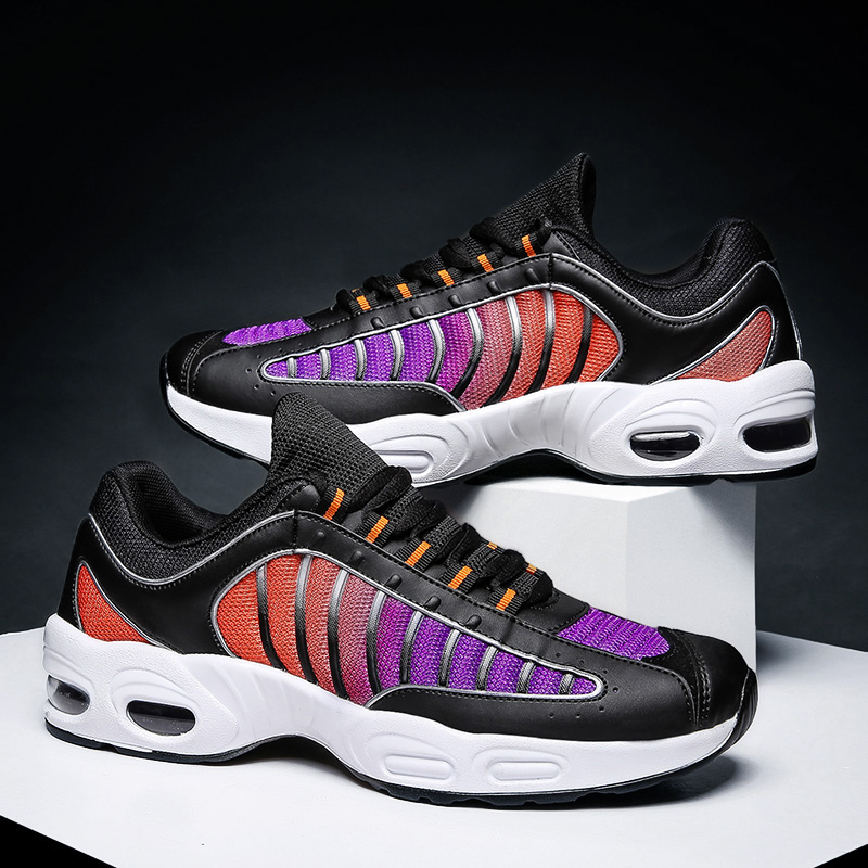 Tennis shoes new outdoor cushioning, wear-resistant, comfortable, breathable, antiskid, casual tennis shoes, air cushioned running shoes