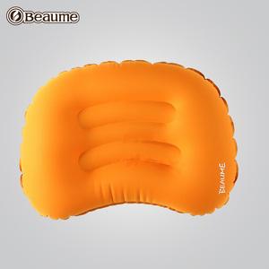 beaume宝美 户外旅行方形充气枕头靠垫 便携气垫睡枕午休枕靠垫