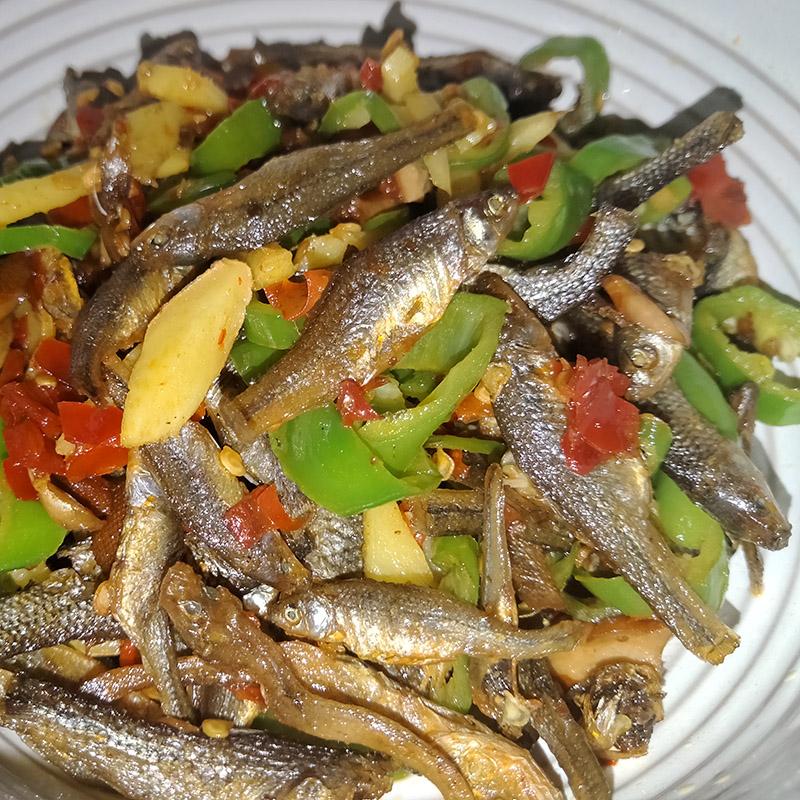 小鱼干 肉嫩子250克 湖南土特产 茶陵淡水小河鱼干 农家火焙 干货