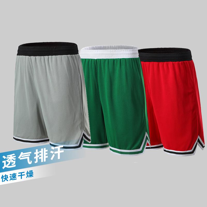 篮球裤定制男大学生街头运动跑步训练短裤个性潮流嘻哈五分裤南宁
