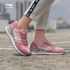 李宁休闲鞋女鞋新款峥嵘加绒保暖潮流复古时尚低帮运动鞋图片