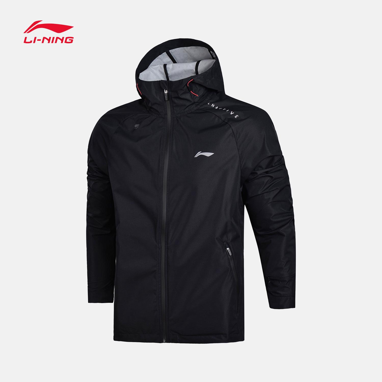 Li ning ветровка мужской 2018 новый обучение серия длинный рукав ветролом одежда закрытый пальто мужской весна движение одежда