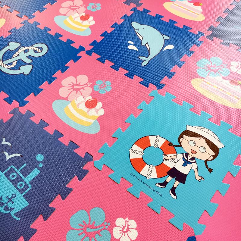 环保地垫拼接无毒无味爬行垫婴儿童小孩泡沫宝宝地毯爬爬垫防摔(用24元券)