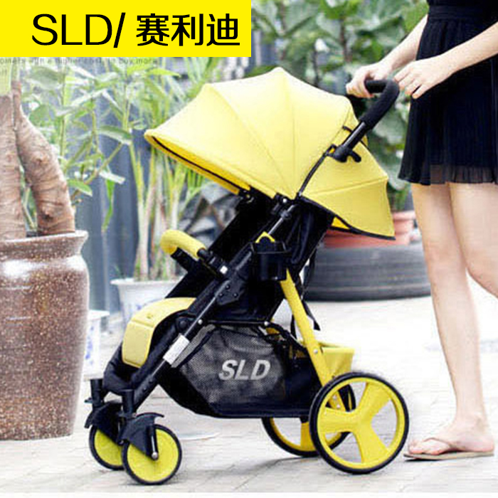 Матч прибыль следовать SLD ребенок тележки высокий пейзаж ребенок может сидеть можно лечь легкий сложить шок двусторонний четырехколесный рука ребенок