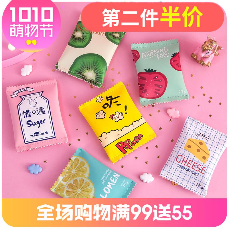 默默爱小零钱包女迷你卡通可爱韩国简约个性小方包短款韩版硬币袋