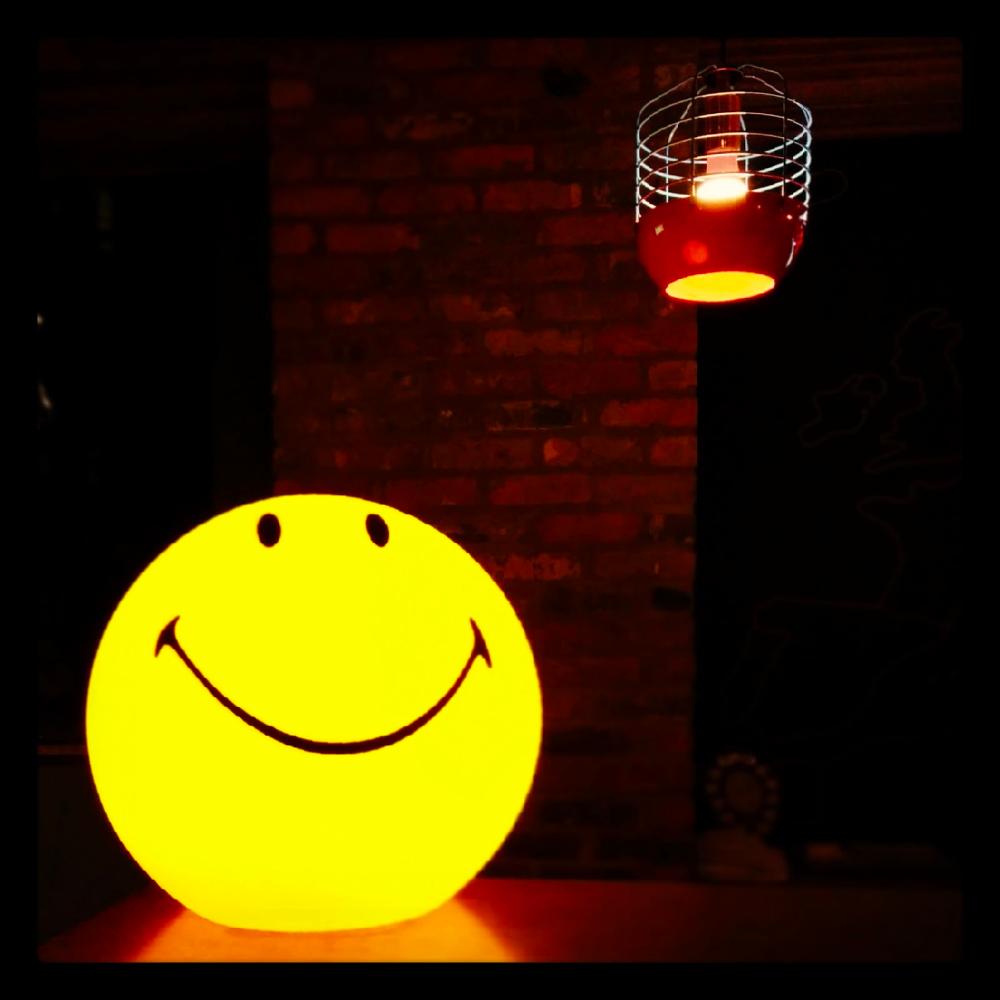 乐观积极人生鼓励小夜灯LampSmiley创意笑脸灯MariaMr荷兰