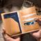 护照夹植鞣皮牛皮真皮多功能出国证件包旅行机票夹卡位包钱包