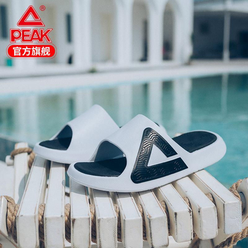 匹克态极拖鞋男女情侣鞋休闲凉拖鞋运动拖鞋沙滩潮流舒适家居拖鞋图片