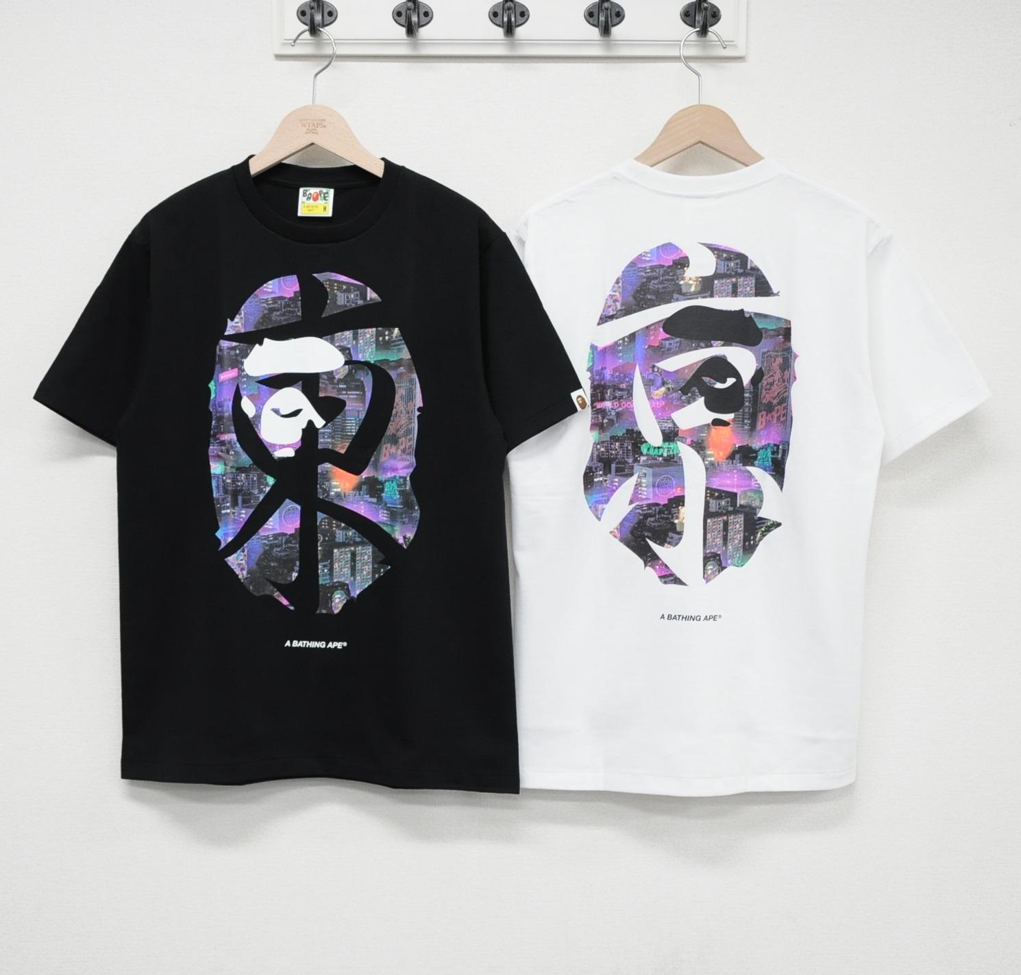四季出品  BAPE NEON TOKYO TEE 東京大猿人夜景T恤 20SS