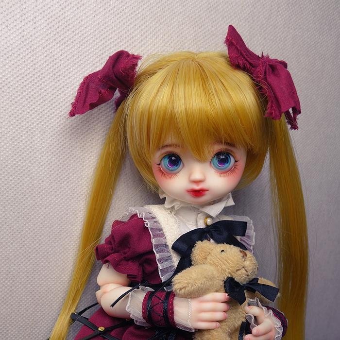 88折送妆+包邮【TL】TrueLove 卡丽娜Canary 1/6女娃 全套bjd娃娃