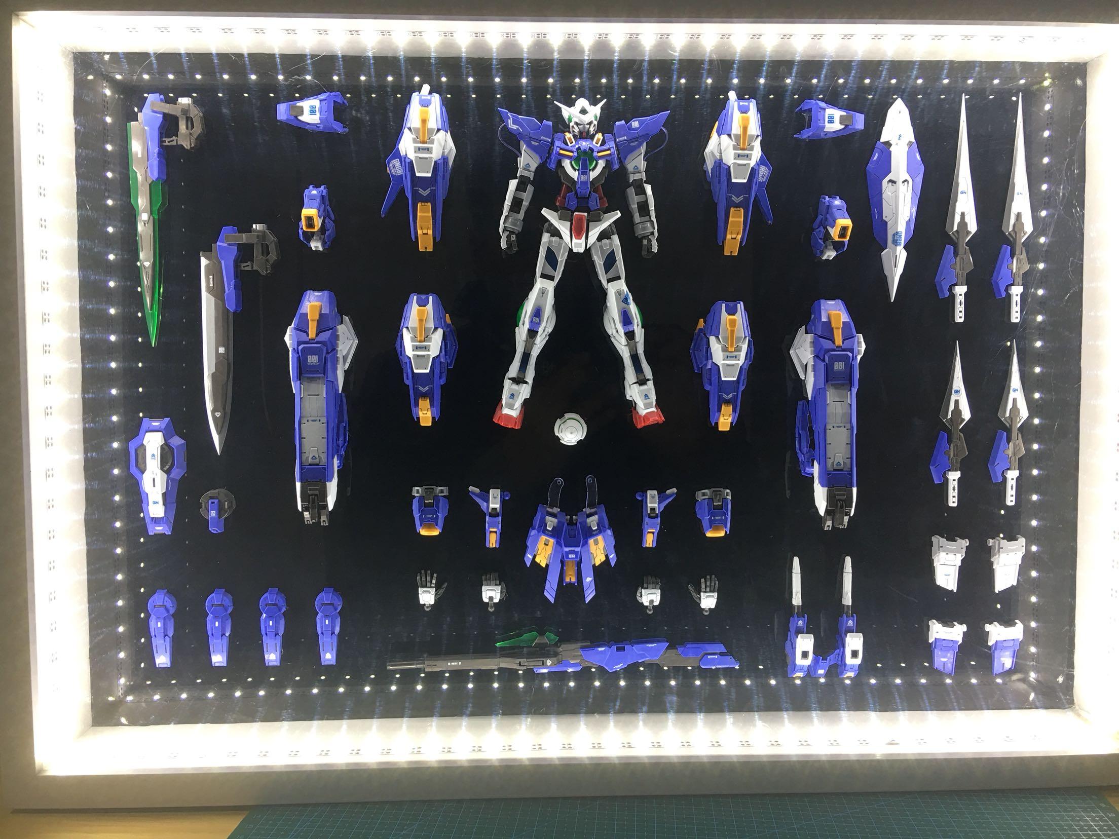 高达模型相框 万代高达hg  rg mg 高达相框制作