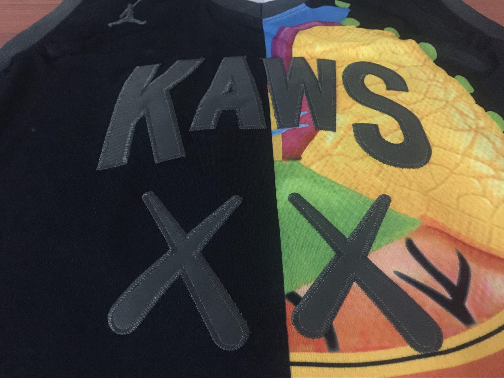 23号  KAWS x Jordan x NBA 三方客制联名球衣 篮球服