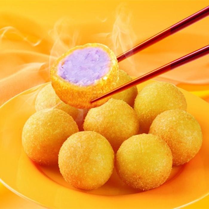 香芋地瓜丸 20枚 脆甜可口 点心 小吃 西餐厅酒店咖啡屋油炸面食