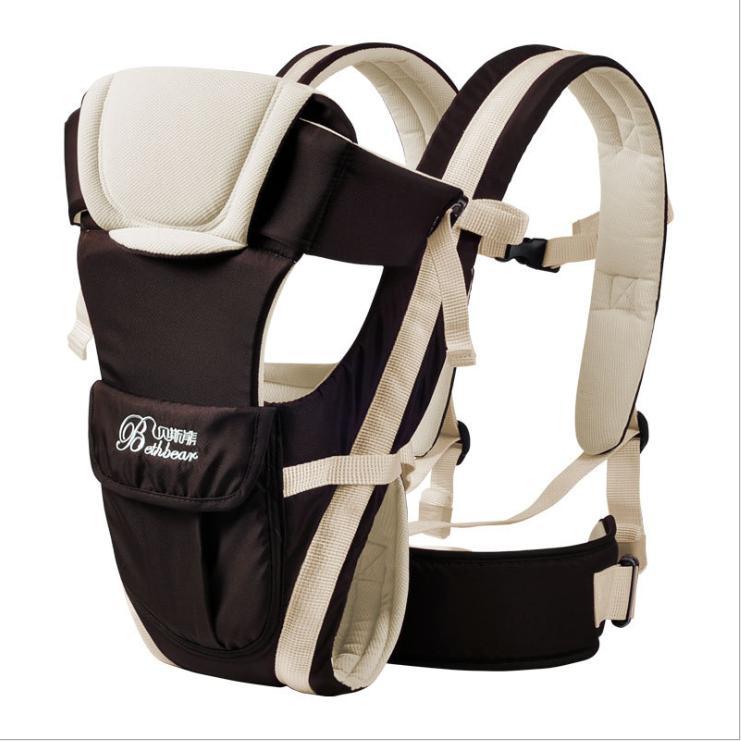 贝斯熊经典款婴儿背带婴儿背袋 有腰带款