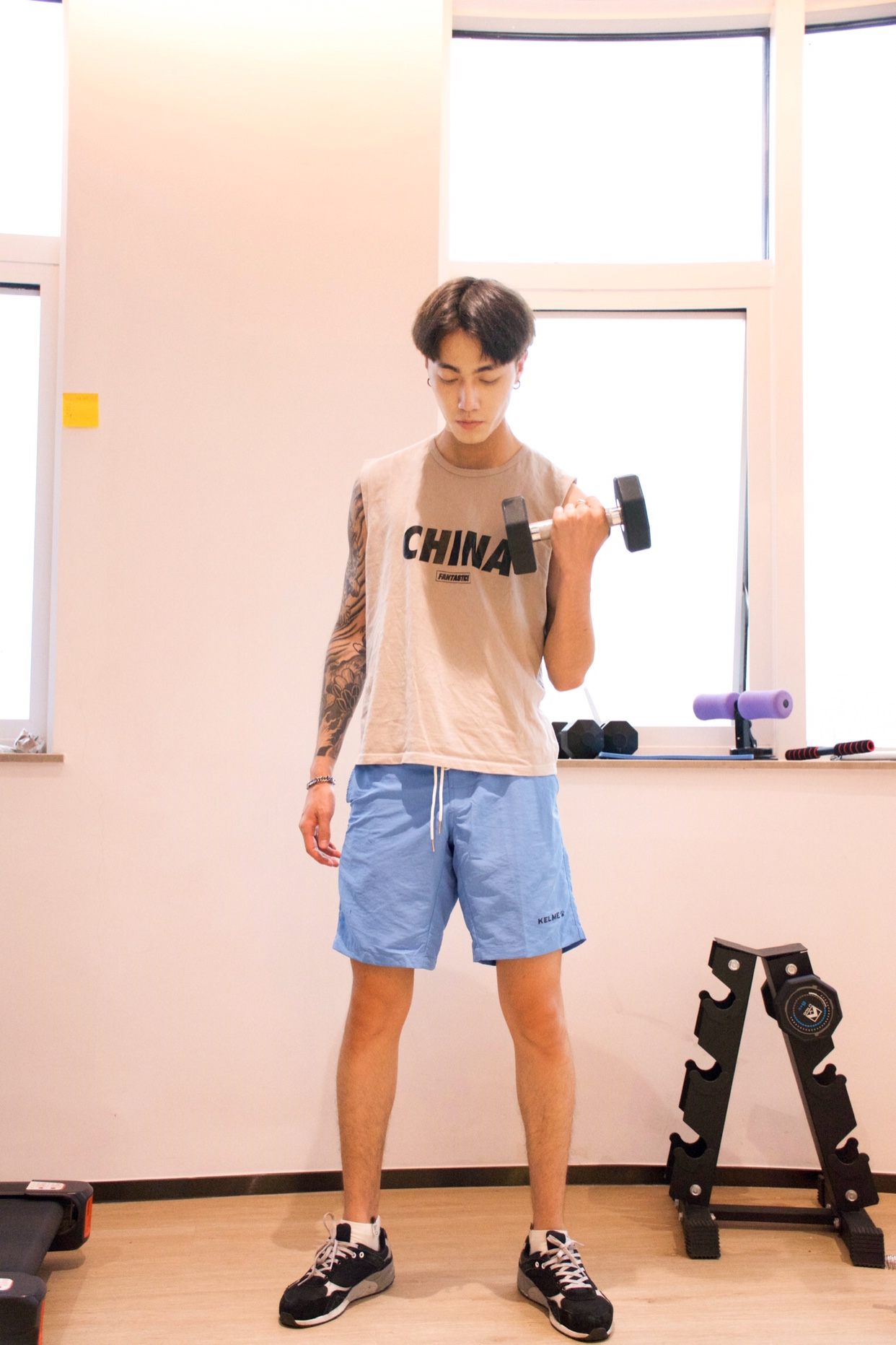 西班牙人赞助商 KELME 卡尔美 男式运动休闲短裤 天猫优惠券折后¥49包邮(¥169-120)多色可选