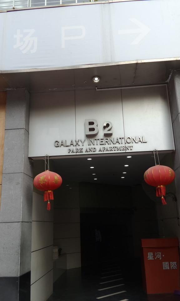 深圳市福田区司法拍卖房星河国际花园南北通看花园(图3)