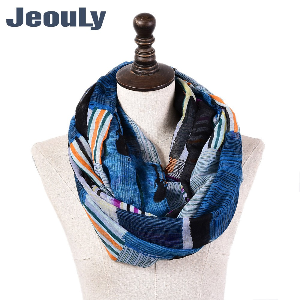 Spring and autumn ink Plaid printed Balinese scarf for women