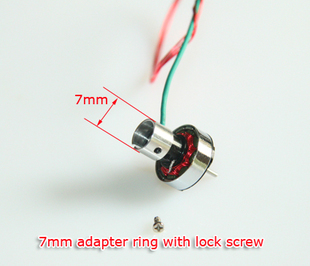 HP03T V2 9000KV outer tail rotor motor 6mm 7mm mounting position MCPX Helicopter