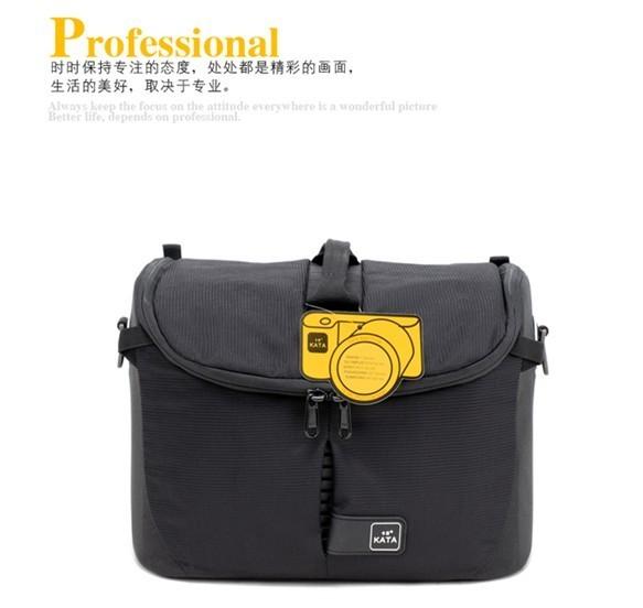 包邮卡塔Lite-445相机单反包防水户外单肩包帆布新款英伦摄影数码