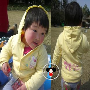 清�}特�r�和��l衣T恤2012春秋女童��帽�L袖�闻趴坌⊥馓赚F�