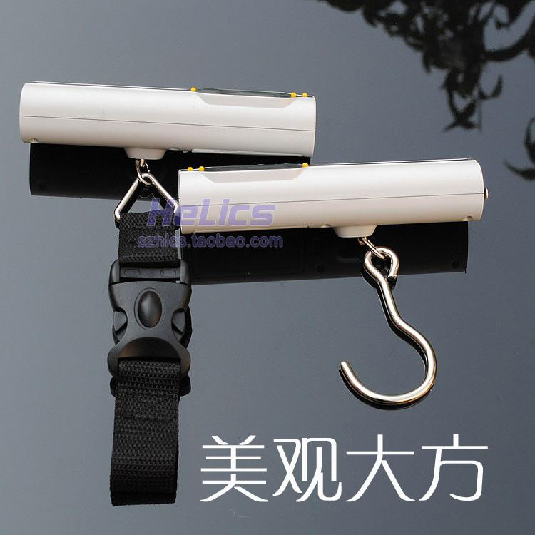 2014 new electronic scale electronic scale hand scale express luggage scale 50kg portable electronic scale