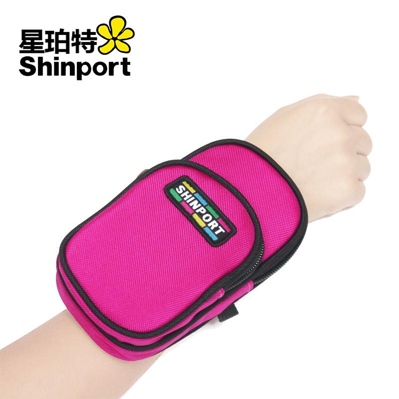 手腕包零錢包女大屏手機袋鑰匙包雙層 iphone6plus手機包